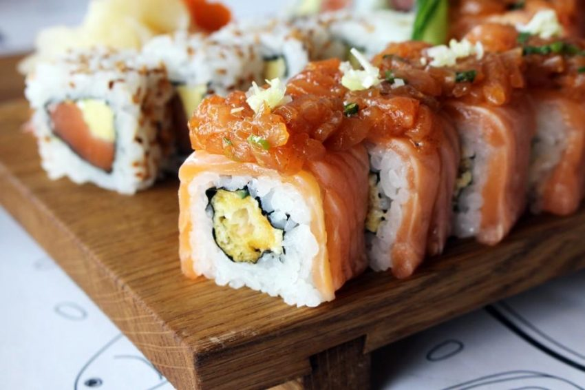 Soja Sushi Thai Japońsko Tajska Uczta Cookmagazine