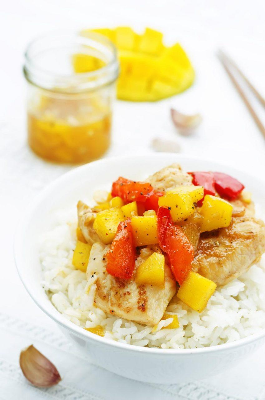 Piers Z Kurczaka Z Mango Cookmagazine